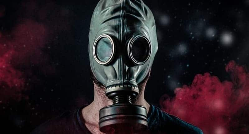 Mask for gym air quality