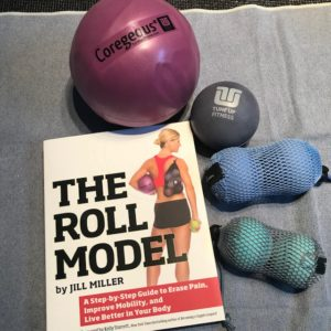 Roll Model Book and Balls