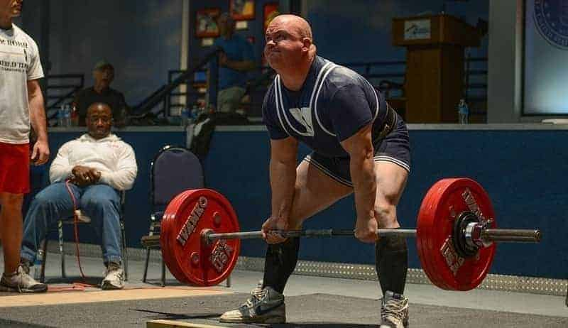 Competitive lifter