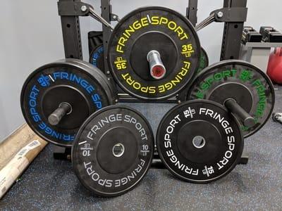 Garage gym ventilation big ass fan black jack rogue fitness