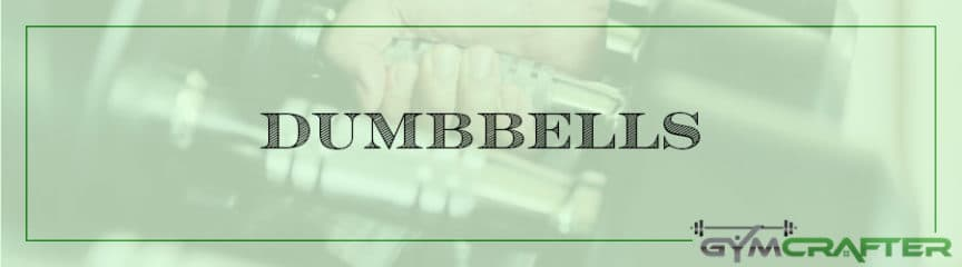 Recommended Dumbbells