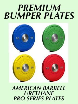 American Barbell pro series urethane bumper plates