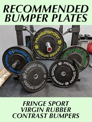 Fringe Sport Contrast Bumper Plates