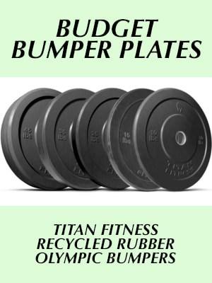 Titan Fitness bumper plates