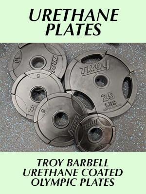 Troy Barbell Urethane plates