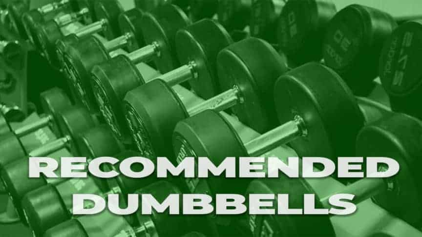 recommended dumbbells icon