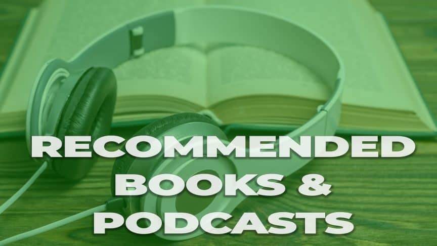 recommended books and podcasts icon