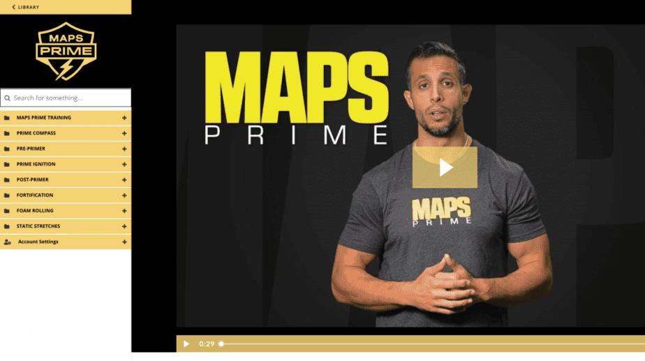 MAPS Prime Dashboard